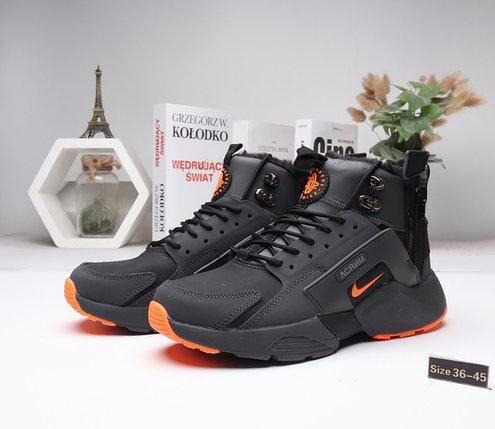 Зимние кроссовки Nike Huarache ( 36-45) Мех, фото 2