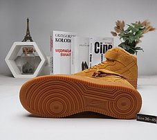 Зимние кроссовки Nike Air Force (36-45) с мехом, фото 3