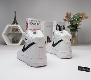 Зимние кроссовки Nike Air Force (36-45) с мехом, фото 2