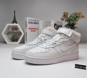 Зимние кроссовки Nike Air Force (36-44) с мехом, фото 2