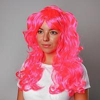Карнавальный парик с двумя хвостиками, 120 г, цвета МИКС, фото 1