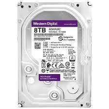 Жесткий диск для видеонаблюдения 8Tb Western Digital Purple