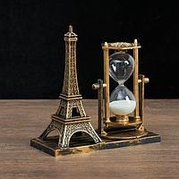 """Часы песочные """"Эйфелева башня"""", 15.5х6.5.х16 см, микс, фото 1"""
