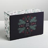 Коробка‒пенал Winter time, 22 × 15 × 10 см, фото 1