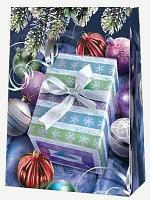 """Пакет ламин. 30х40х12см """"Новогодний подарок"""" , бум., 10 шт"""