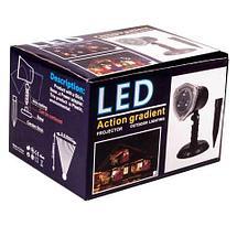 Проектор лазерный уличный «Новогодние картинки» LED Action gradient, фото 3