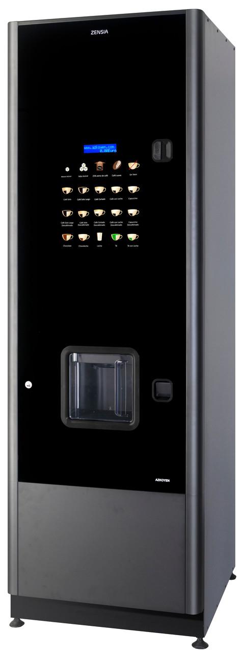 Зерновой торговый кофейный автомат Azkoen Zensia Espresso