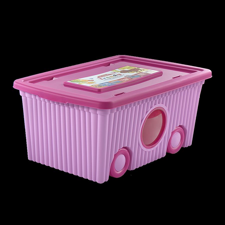 Коробка для хранения с колесами