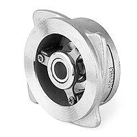 Дисковый подпружиненный обратный клапан из нержавейки Марка 12Х18Н10Т