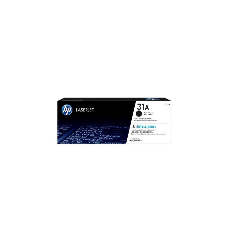 Лазерный картридж HP 31A (Оригинальный, Черный - Black) CF231A