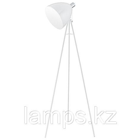 Светильник напольный /DON DIEGO/1-light floor luminaire; steel, white, chrome , фото 2
