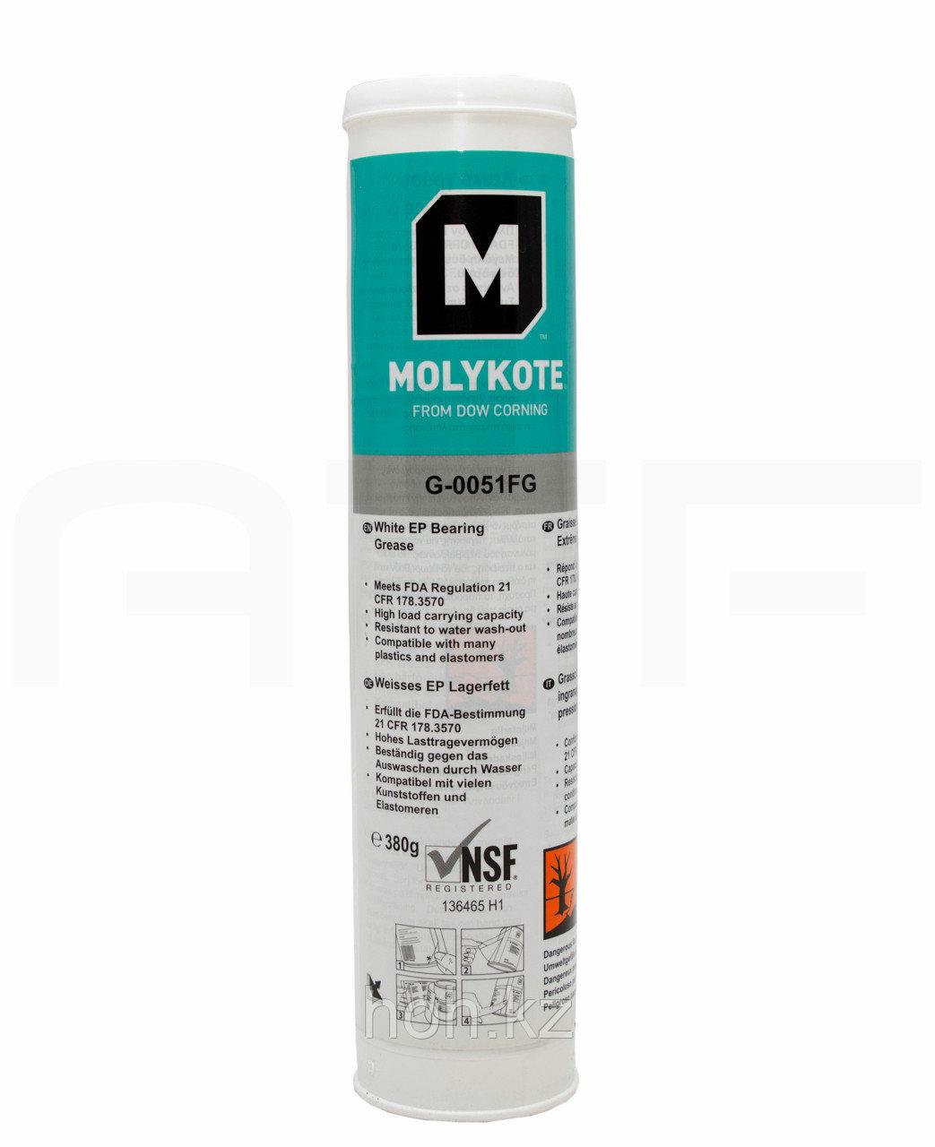 Molykote G-0051 FG Пластичная смазка с пищевым допуском EP-1