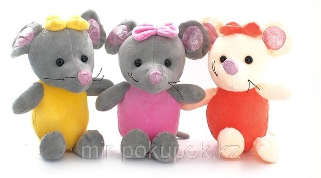 Мягкая игрушка Мышка 26 см