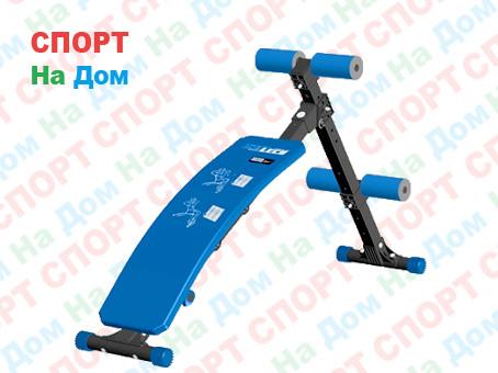 Скамья для пресса изогнутая Leco-IT Pro до 200 кг (Россия)