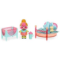 L.O.L. Surprise  Игровой набор с куклой Неон, спальня