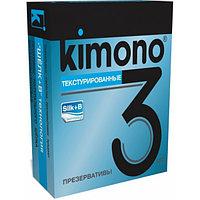 Презервативы KIMONO (текстурированные) 3 шт.