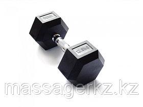 Гантель 12,5 кг гексагональная