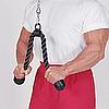 Гибкая тяга (канат) для трицепса Body-Solid, фото 2