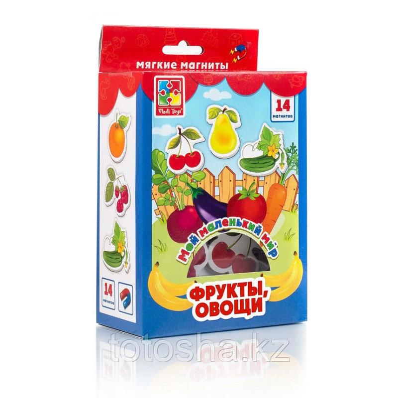 """Набор магнитов """"Мой маленький мир. Овощи, фрукты"""" VT3106-03"""