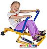 Детский гребной тренажер с двумя рукоятками, фото 3