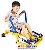 Детский гребной тренажер с двумя рукоятками, фото 4