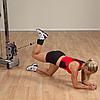 Ремень для тренировки мышц бедра и ягодиц, нейлон с шерстяной подкладкой, фото 5