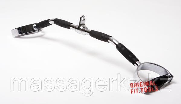 Рукоятка для мышц спины, параллельный хват 86 см - фото 2