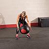 Тренировочный мяч мягкий WALL BALL 11,3 кг (25lb), фото 7