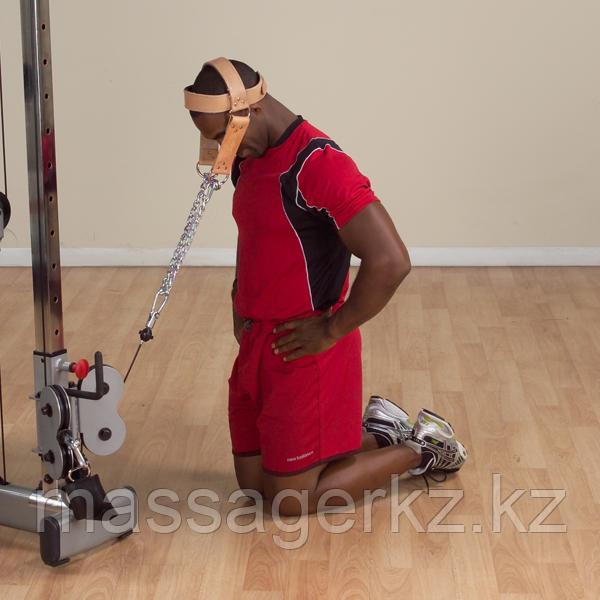 Упряжь для тренировки мышц шеи кожаная - фото 2