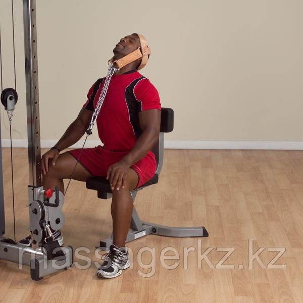 Упряжь для тренировки мышц шеи кожаная - фото 5