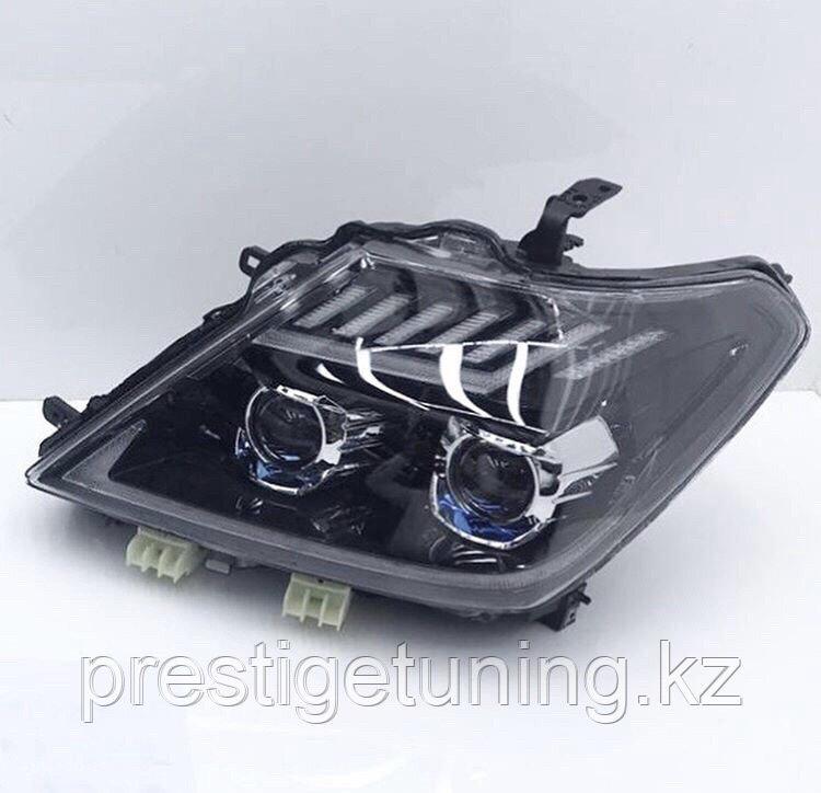 Передние альтернативная оптика на Nissan Patrol Y62 2010-19