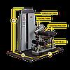 Двухпозиционный тренажер для пресса и спины Body-Solid DABB-SF, фото 5