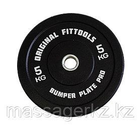 Диск бамперный 5 кг (черный)