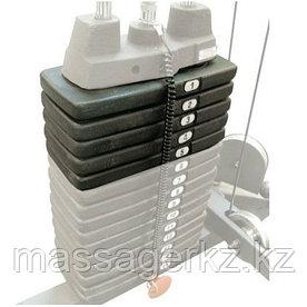 Дополнительный груз к стеку 22,5 кг ОПЦИЯ для тренажера