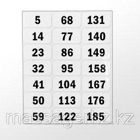 Комплект наклеек на весовой стек № 3 (для SP20)