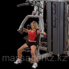 ОПЦИЯ к DGYM Двухпозиционный тренажер многофункциональный жим и верхняя тяга с весовым стеком 95 кг