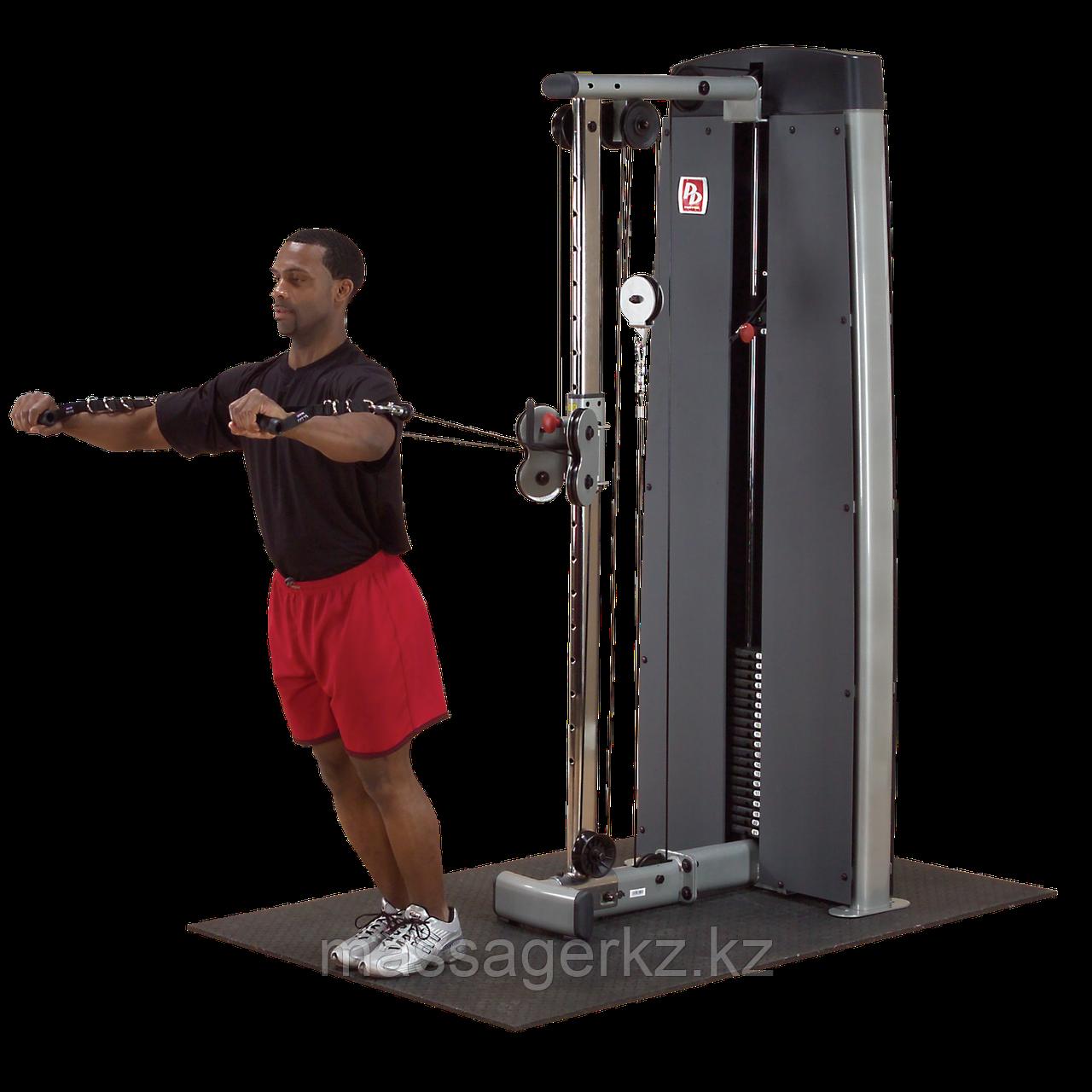 ОПЦИЯ к DGYM Многофункциональный вертикальный тросовый тренажер с весовым стеком 95 кг