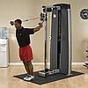 ОПЦИЯ к DGYM Многофункциональный вертикальный тросовый тренажер с весовым стеком 95 кг, фото 9