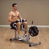 Тренажер голень сидя Body-Solid PSC43X на свободном весе, фото 2