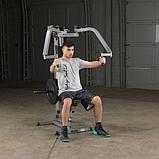 Тренажер для грудных и дельтовидных мышц Body-Solid GPM65 на свободных весах, фото 2