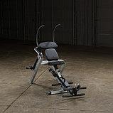 Тренажер для мышц брюшного пресса спины Body-Solid GAB300 на свободном весе, фото 2