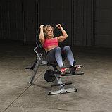 Тренажер для мышц брюшного пресса спины Body-Solid GAB300 на свободном весе, фото 3