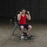 Тренажер для мышц брюшного пресса спины Body-Solid GAB300 на свободном весе, фото 4