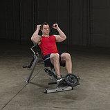 Тренажер для мышц брюшного пресса спины Body-Solid GAB300 на свободном весе, фото 5