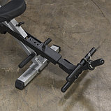 Тренажер для мышц брюшного пресса спины Body-Solid GAB300 на свободном весе, фото 8