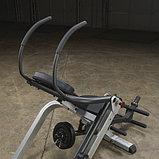 Тренажер для мышц брюшного пресса спины Body-Solid GAB300 на свободном весе, фото 9