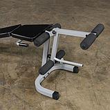 Тренажер разгибание ног сидя - сгибание ног лежа Body-Solid PLCE165X на свободном весе, фото 3