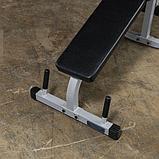 Тренажер разгибание ног сидя - сгибание ног лежа Body-Solid PLCE165X на свободном весе, фото 4