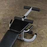 Тренажер разгибание ног сидя - сгибание ног лежа Body-Solid PLCE165X на свободном весе, фото 5