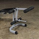 Тренажер разгибание ног сидя - сгибание ног лежа Body-Solid PLCE165X на свободном весе, фото 6